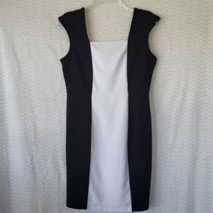 Petite Worthington Black & White dress